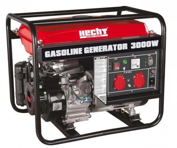 Hecht GG3300 Áramfejlesztő aggregátor generátor 3kW