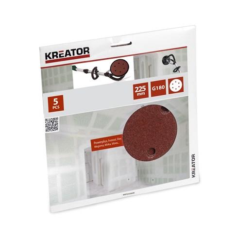 Kreator KRT232008 falcsiszoló csiszológép csiszolókorong G180 225mm