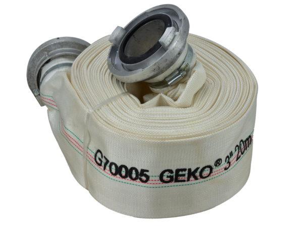 """Geko Tűzoltó tömlő 3"""" 20m 8 bar G70005"""