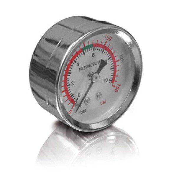 """ERBA manométer nyomásmérő óra 0-10bar 1/4"""" külső menetes 20129"""