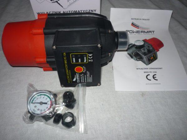 Powermat Motorvédelem press control áramláskapcsoló szivattyúhoz BRIOPC-13A