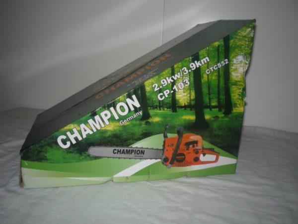 Champion benzinmotoros benzines láncfűrész 52 cm3 45 cm CP-104 CTCS52