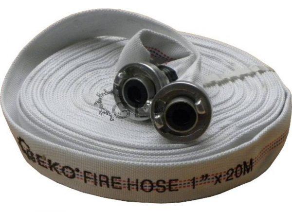 """Geko Tűzoltó tömlő 1"""" 20m 12 bar G70001"""