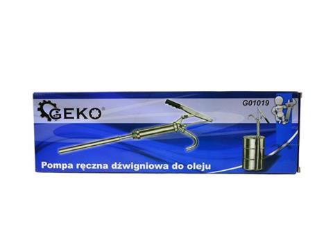 Geko kézi hordó átfejtő szivattyú üzemanyag szivattyú olajszivattyú G01019