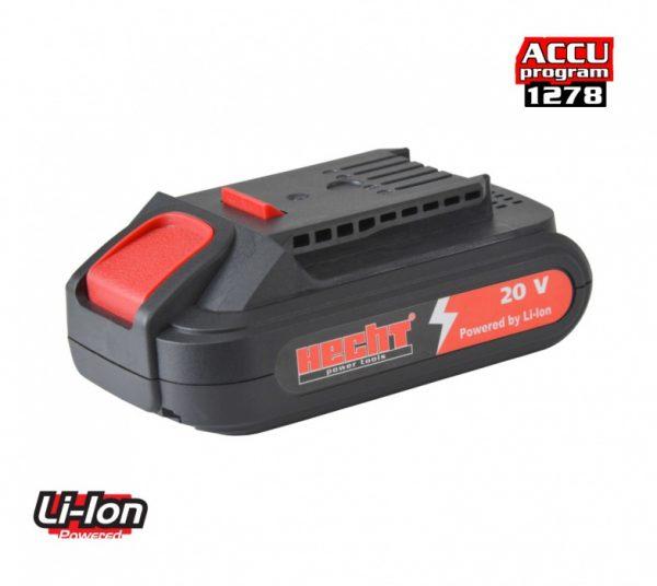 Hecht 001277B akkumulátor 2000 mAh 20V H1277 H1278 HECHT001277B