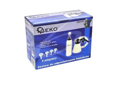 Geko féklégtelenítő készlet G02730