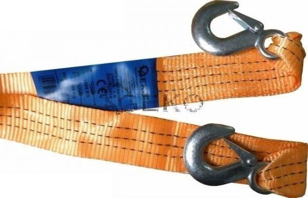 Geko vontatókötél vontató kötél kampókkal 5Tx5m G02391