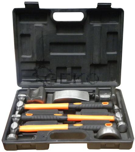 Geko karosszériás kalapács készlet 7 részes G02640