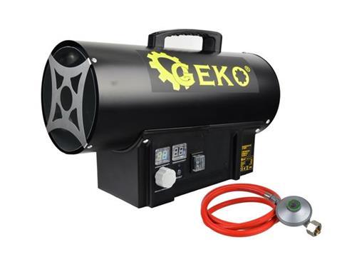 Geko PB gázüzemű hőlégbefúvó hőlégfúvó hősugárzó 20kW G80411