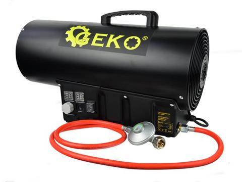 Geko PB gázüzemű hőlégbefúvó hőlégfúvó hősugárzó 65kW G80415