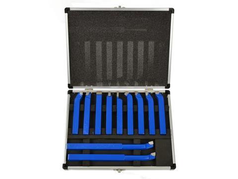 Geko esztergakés készlet 11db-os eszterga kés 12x12mm G01242