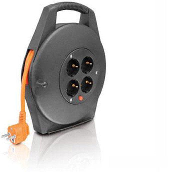 Erba villanyvezeték hosszabbító kábeldob 10 m hosszabbító kábel 11010