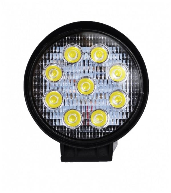 Munkalámpa 9 LED 27 W lámpa reflektor kerek 10-30 V LR9L27W-O
