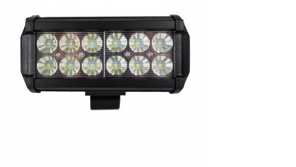 Munkalámpa 12 LED 36 W lámpa reflektor fényhíd 10-30 V PL12L36W
