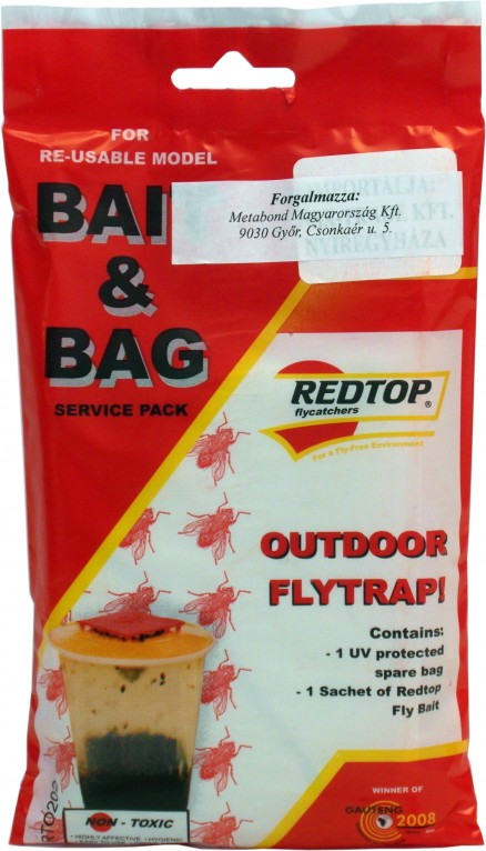Redtop szervíz csomag (utántöltő por, zsákkal)