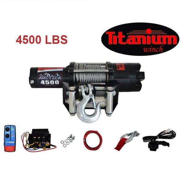 Titanium csörlő emelő 12 V 4500 lbs 2040 kg 55607