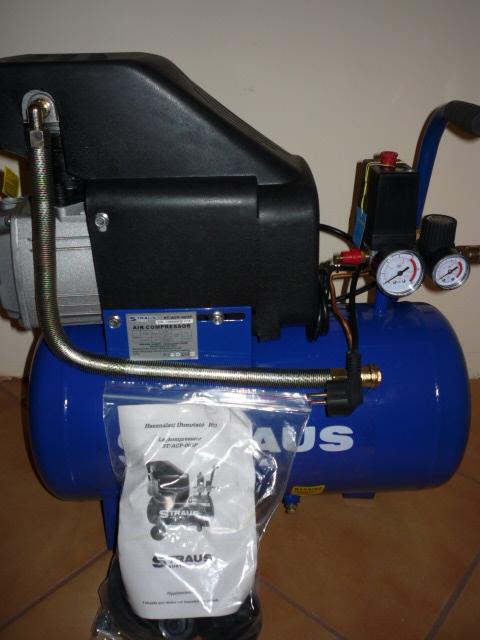 Straus Austria Kompresszor olajos 25 l ST/ACP-003F