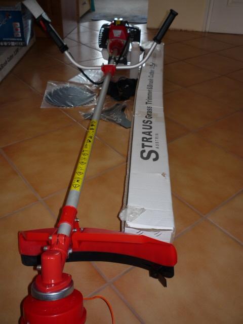 Straus Fűkasza bozótvágó 3,5le ST/GT2500-023A