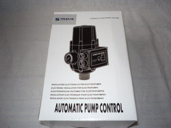 Motorvédelem press control nyomáskapcsoló áramláskapcsoló szivattyúhoz