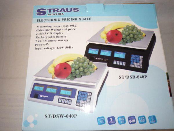 Straus Austria digitális mérleg 40 kg