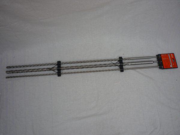 Möller 3 részes sds méteres fúrószár betonhoz 1 m MR70201