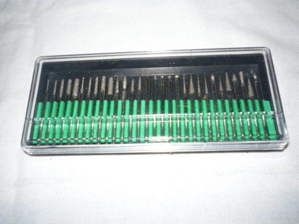 Gravírozó gyémántfej 30 db GYG-001