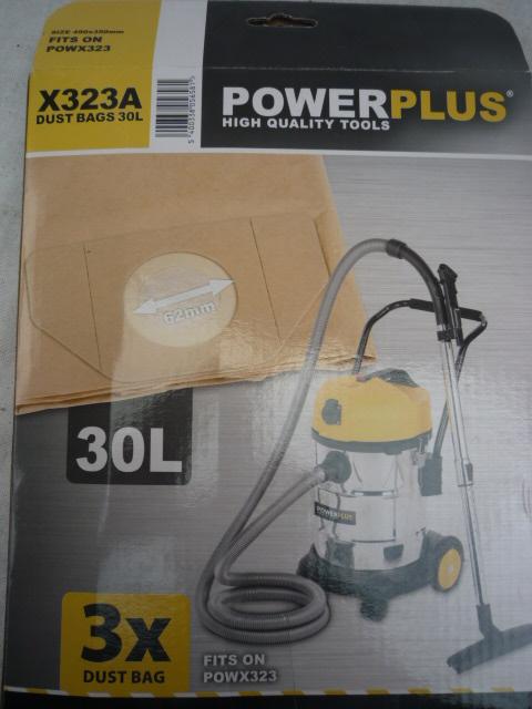 Power Plus Porszívó porzsák 18l 3db POWX321A