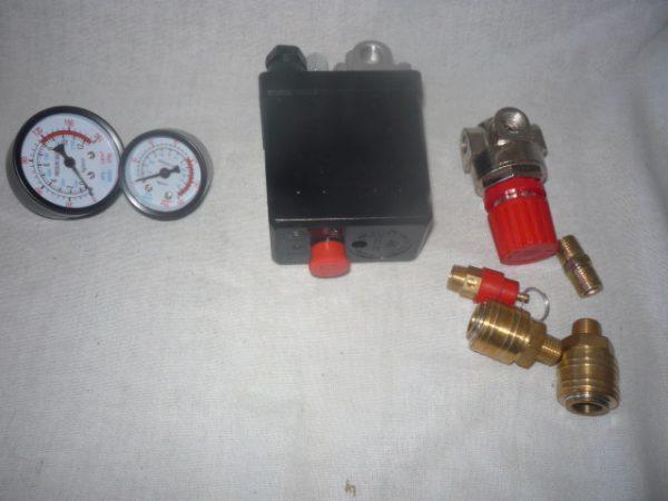 Kompresszor nyomáskapcsoló komplett NYK01
