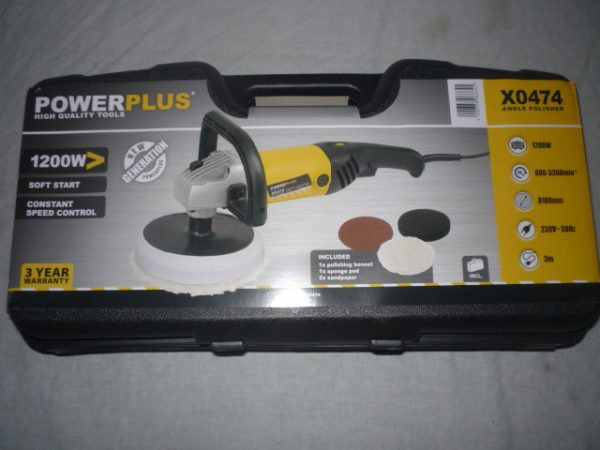 Power Plus Polírozó 1200W POWX0474