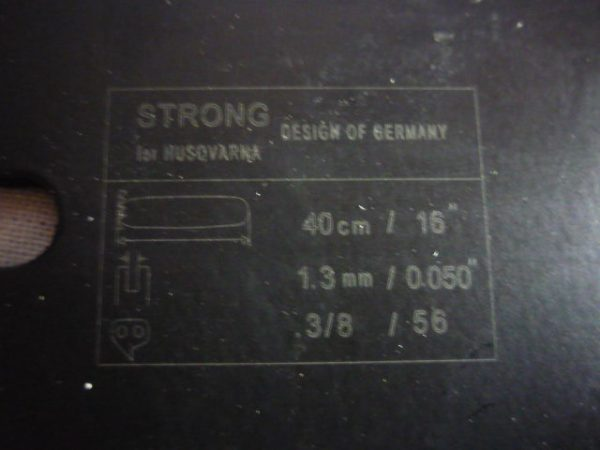 Strong láncfűrész láncvezető 45 cm 325 72 szem 1,5 mm 4532572STR