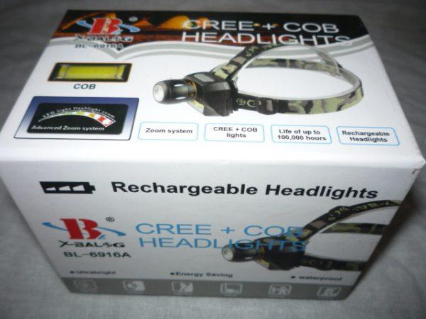 Fejlámpa ledes lámpa szerelő lámpa BL-6916A