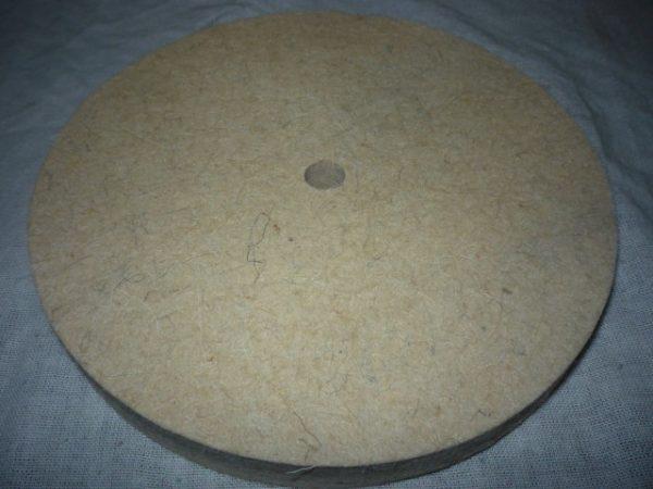 Polírozó korong filc korong asztali köszörűhöz 180 mm