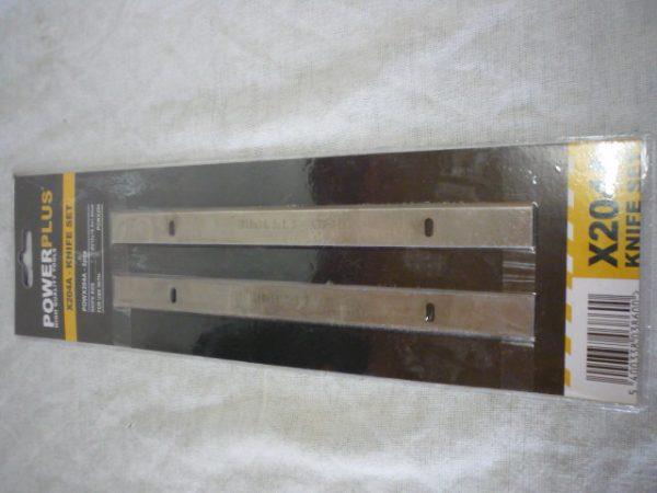 Power Plus kombinált gyalu kés penge 210X16,5X1,5 mm POWX204A