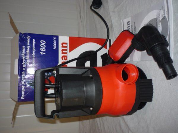 Heidmann szennyvízszivattyú szivattyú búvárszivattyú 400W H00615