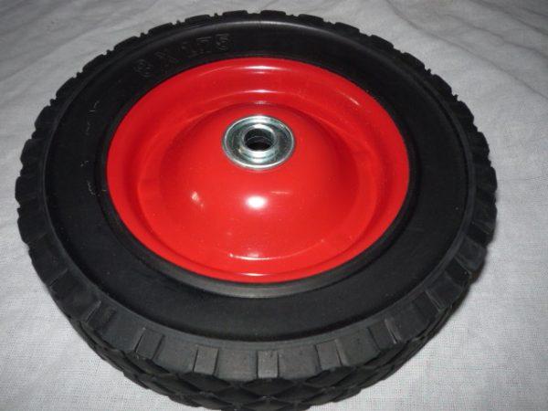 Molnárkocsi kerék 20 cm tömör 8×1,75 17-06022