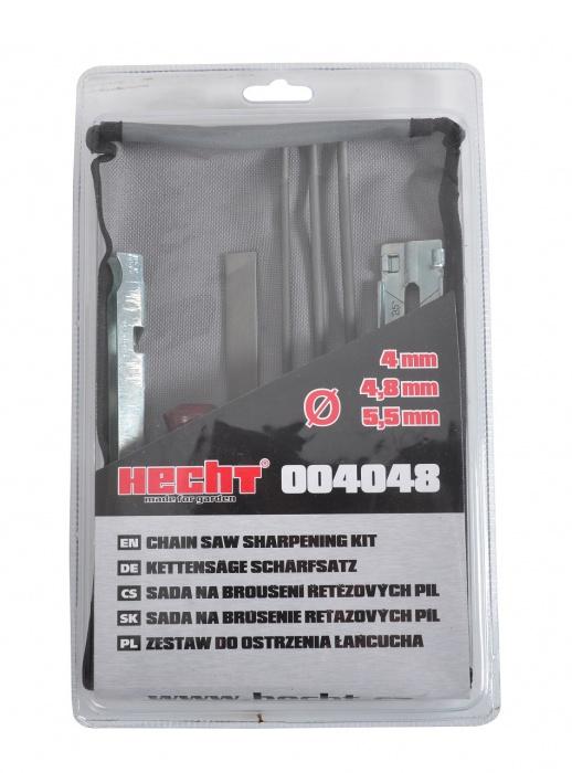 Hecht 004048 kézi láncélező szett lánc élező sablon