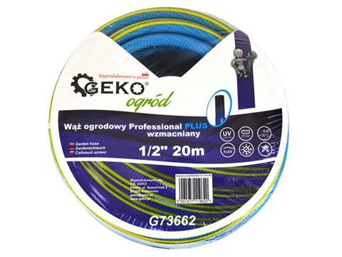 """Geko csavarodásmentes locsolótömlő tömlő slag 1/2"""" 20 m kék G73662"""