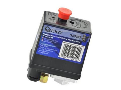 Geko 25 és 50 literes kompresszor nyomáskapcsoló G80307