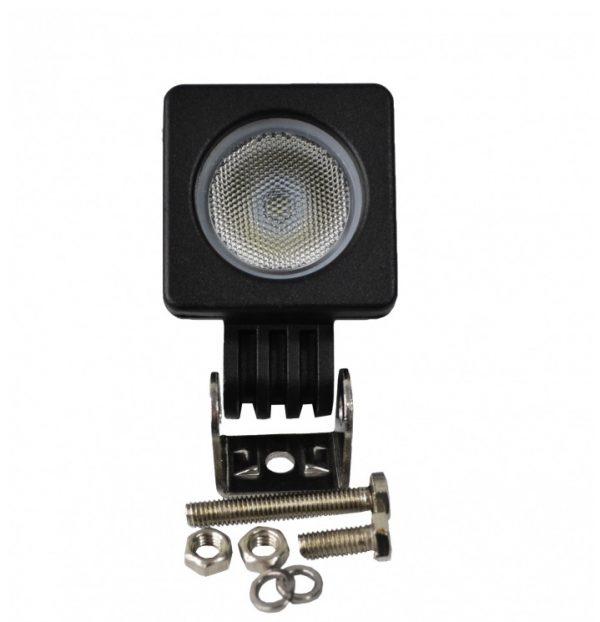 Munkalámpa 1 LED 10 W lámpa reflektor 10-30 V LR1L10W