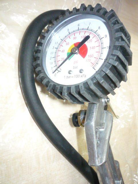 Straus Kerékfújó pisztoly nyomásmérővel ST/AT-04TG