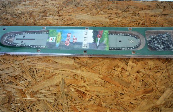 Láncfűrész láncvezető + 2 lánc 57sz 1,3 mm 3/8 571338