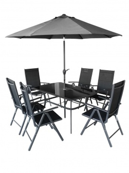 HECHT SHADOWSET kerti bútor napernyővel