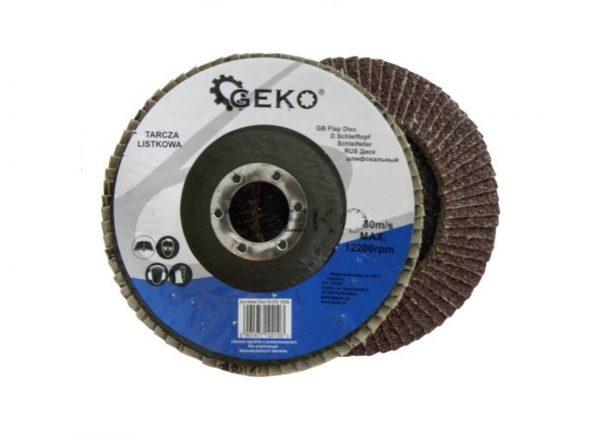 Geko lamellás legyező csiszoló korong 125 mm P40 G00303