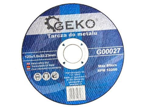 Geko vágókorong 125X1mm fémhez G00027