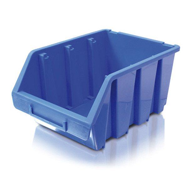 Erba tárolódoboz alkatrésztároló csavaratároló tároló doboz közepes 02253