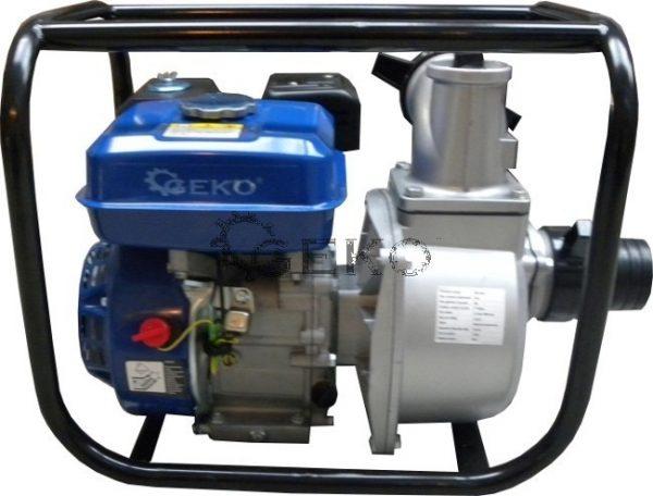 """Geko benzinmotoros szivattyú benzines szivattyú vízszivattyú 6,5Le 3"""" G81040"""