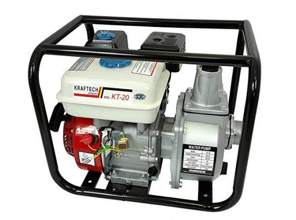 """Kraftech benzinmotoros szivattyú 5,5 LE 163cm3 2"""" KT-20"""
