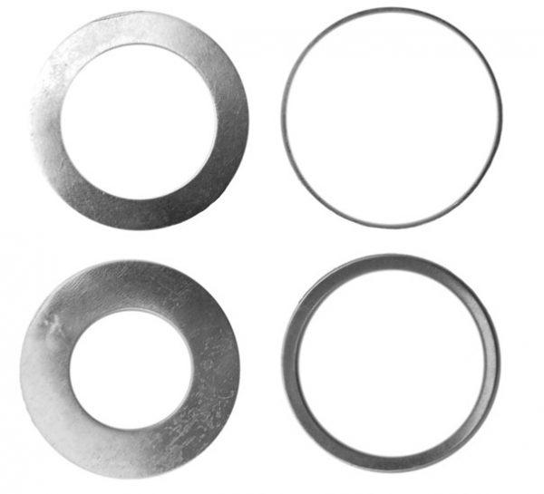 Redukciós gyűrűk szűkító gyűrűk tengelyszűkítő körfűrészlapokhoz 30mm x 1,4mm 060013
