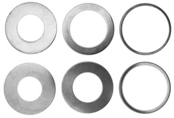 Redukciós gyűrűk szűkító gyűrűk tengelyszűkítő körfűrészlapokhoz 35mm x 1,4mm 060014