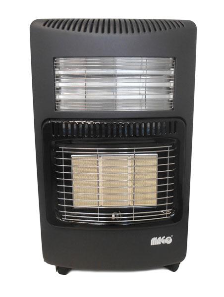 Magg kombinált infrasugárzó 4.2 KW gázkályha és 1.2 KW-os elektromos fűtés szieszta 110070A
